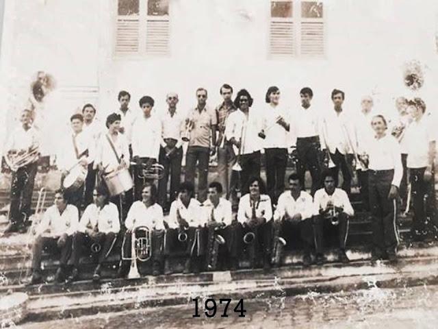 Banda Marcial Mariano de Assis de 1974