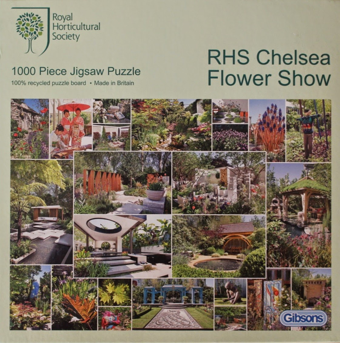 Photo of the 2010 Chelsea Flower Show jigsaw puzzle box