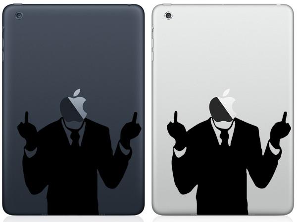F off iPad Mini Decals