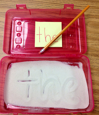 literacy center sight word activities