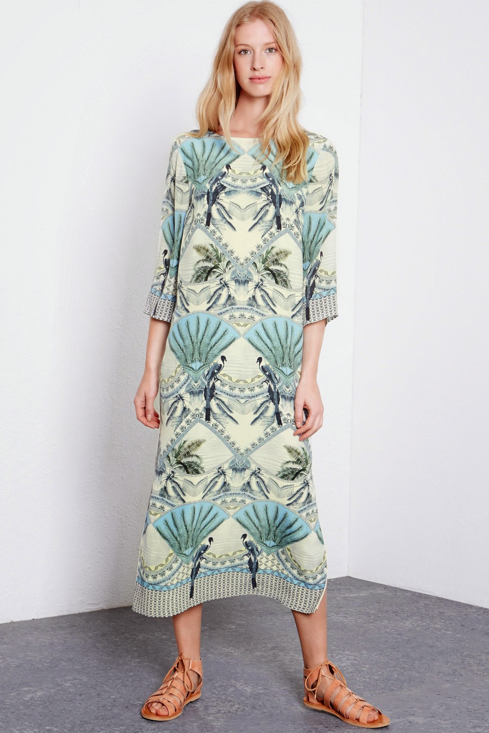 warehouse silk dress