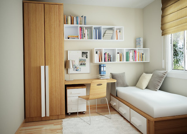 Home Office Bedroom Design Ideas