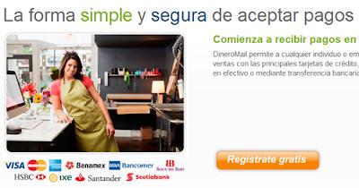 como crear una cuenta en DineroMail