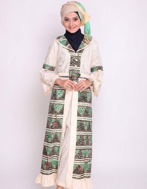 Baju Trendy Model Baju Gamis Batik Wanita Muslimah