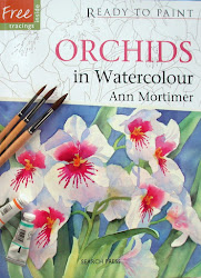 My new book Ready to Paint Orchids in Watercolour