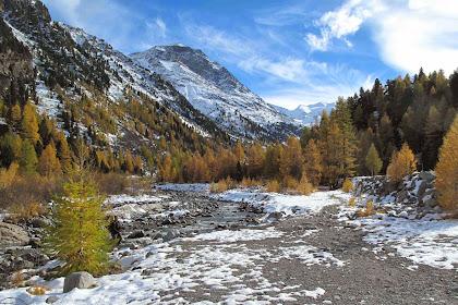 Hiking In Switzerland In November