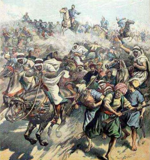 fat crisis or rebellion During the 1920 revolt, another anti-british rebellion took place in the north iraq by the kurds, who were trying to gain independence.