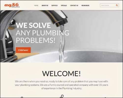 Plumbing Premium Responsive Joomla Template