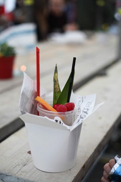 Street food cocktail