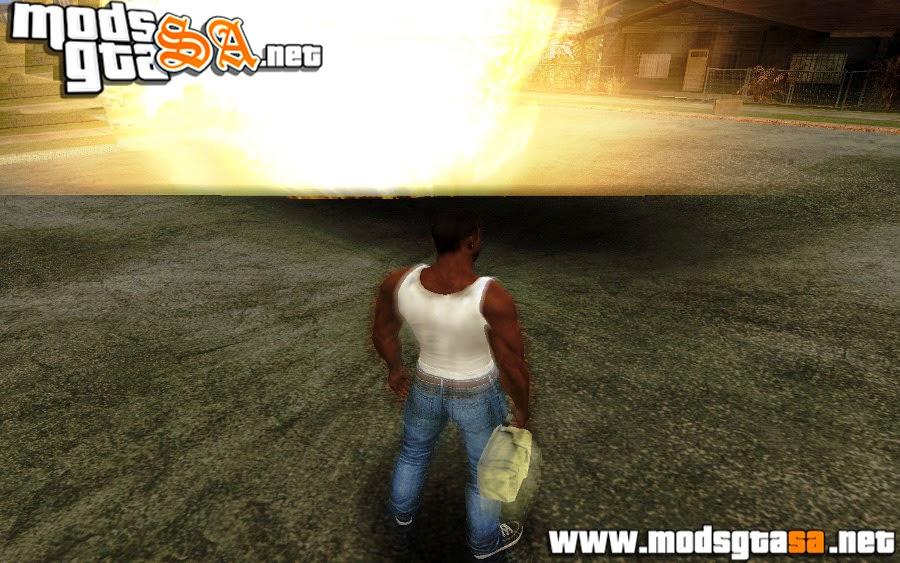 SA - Efeito Blur em Explosões