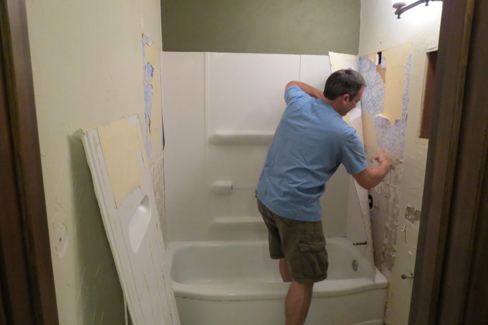 Dippity Dot: Small Bathroom Renovation