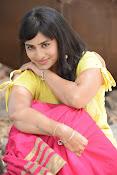 Aparna Glam pics in yellow top-thumbnail-9
