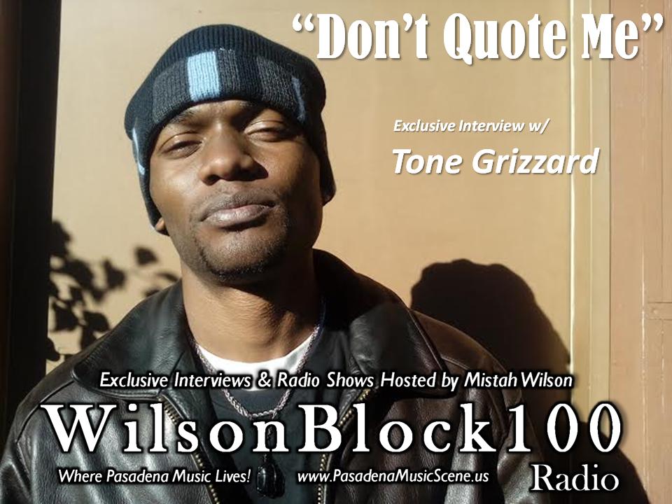 Tone Grizzard Interview