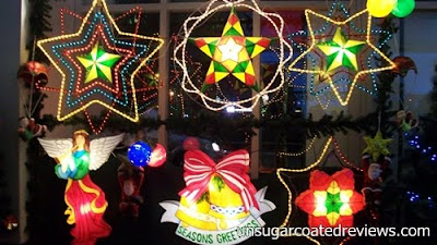 Philippine Christmas lanterns at Noel Discovery Bazaar 2011