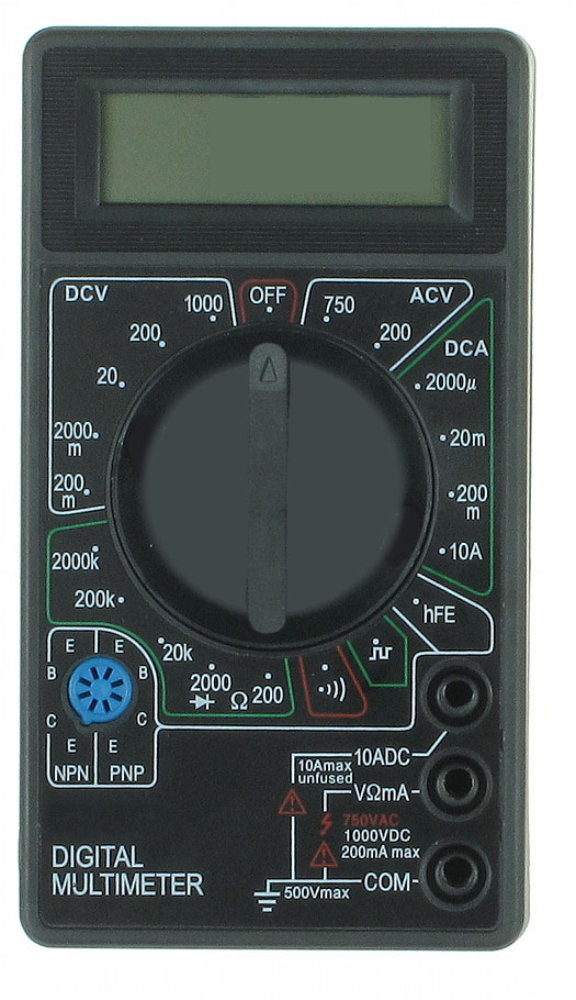 digital multimeter specifications