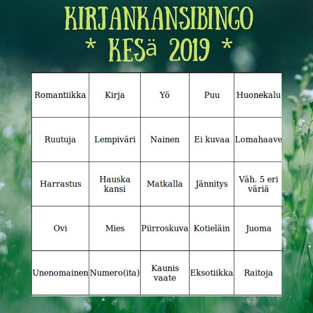 Kirjankansibingo 2019