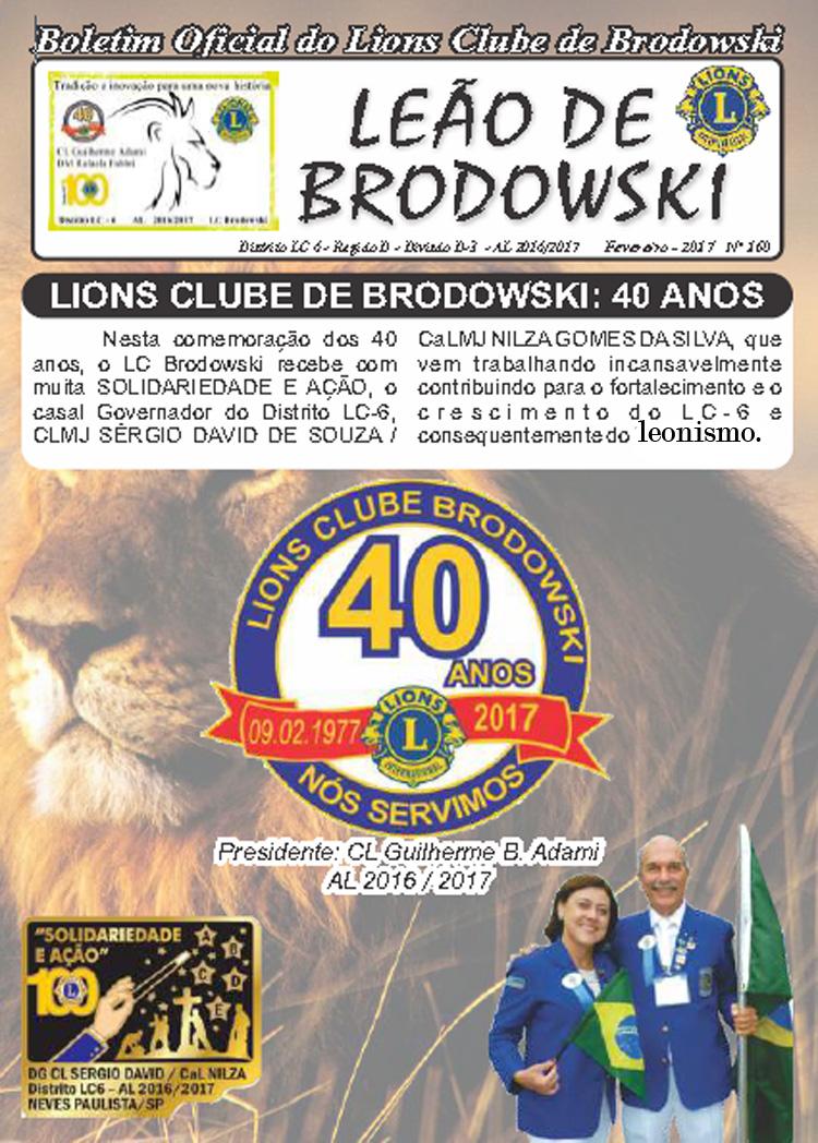 LEÃO DE BRODOWSKI - 40 anos