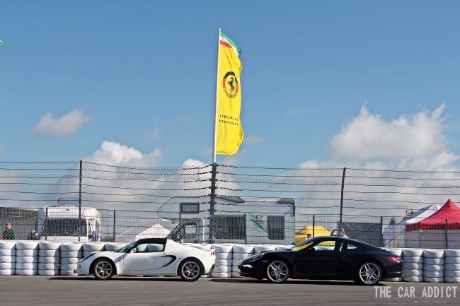 Oldtimer Grand Prix 2013 Nurburgring Lotus and Porsche