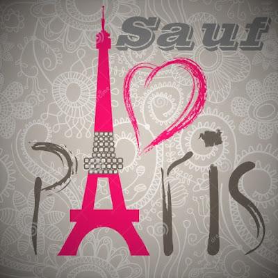 Poème sur paris et l'amour