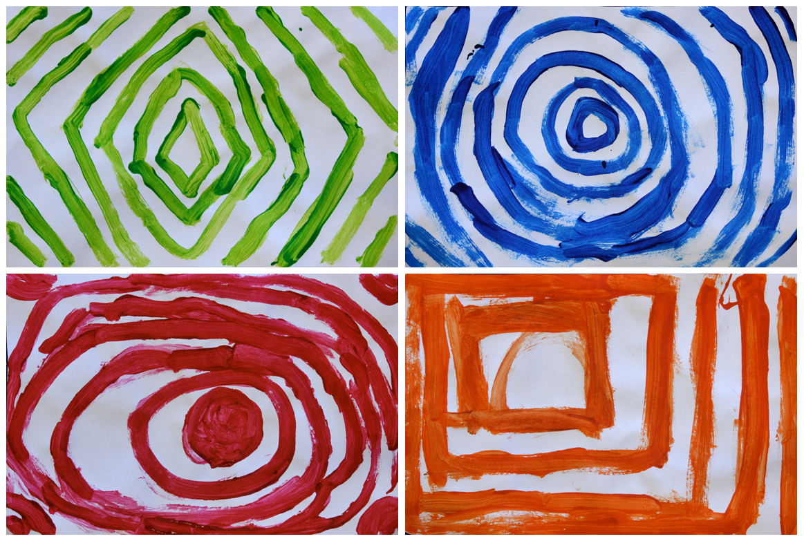 Lines And Shapes : Art with mr hall shapes lines