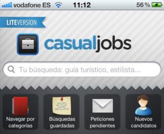 CasualJobs - aplicación para Atraer Clientes si eres Autónomo
