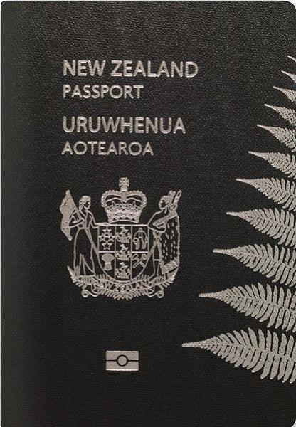 Book Covering Nz : Information with clarity the new zealand passport—smart