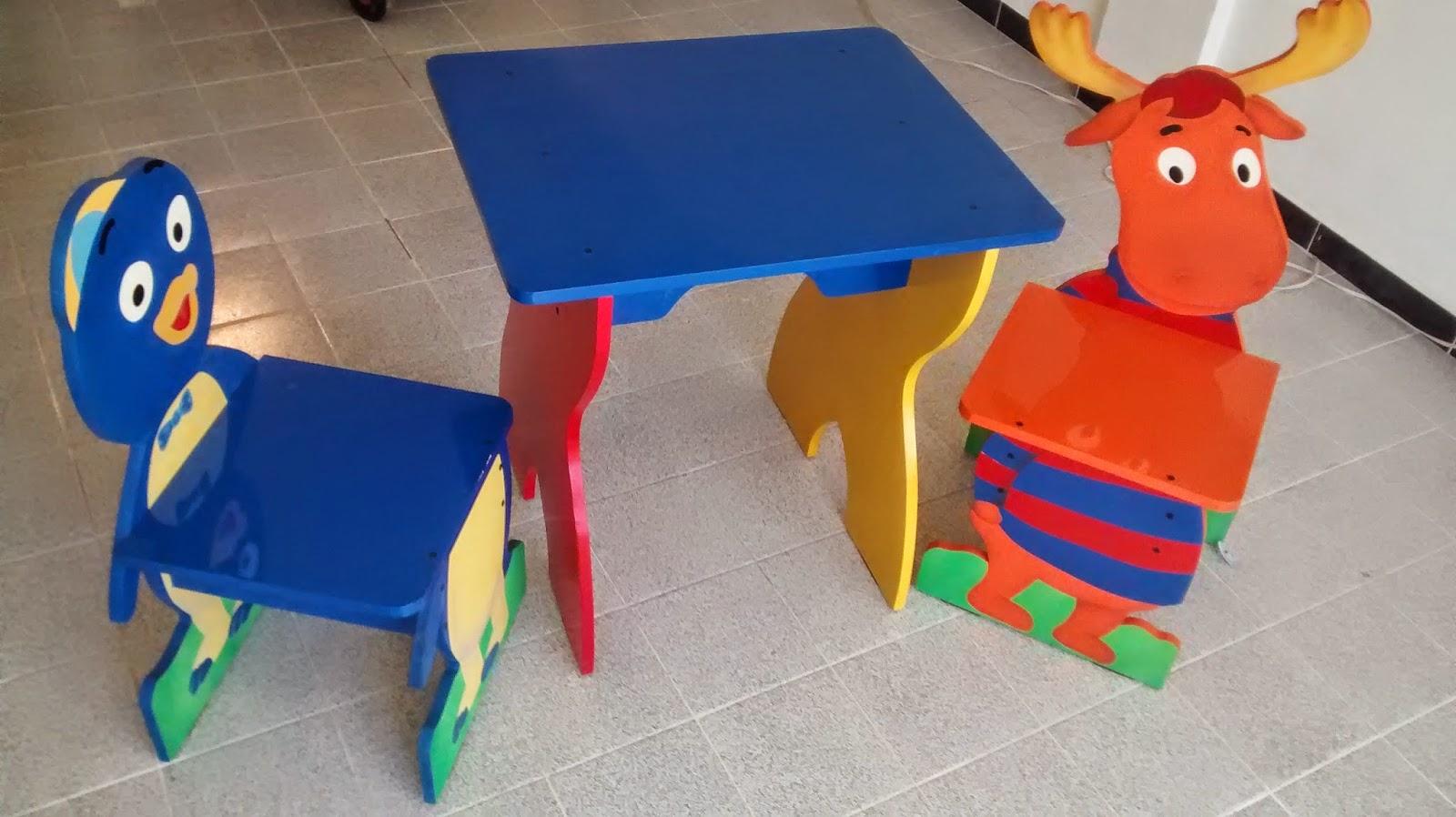 Galeria arte y dise o madekids juego de escritorio y - Juego de escritorio ...