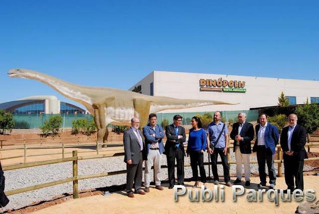Inauguración Tierra Magna, nueva zona temática de Dinópolis