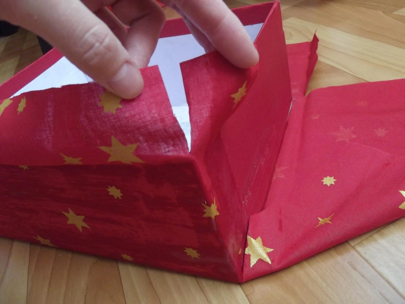 Коробочки обшитые тканью своими руками 32