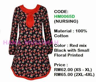 T-shirt-Hana-Muslimah-HM0065D