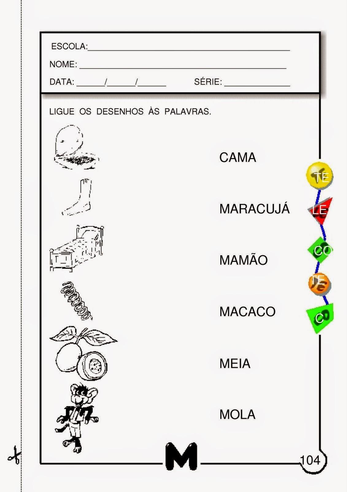 Muitas vezes Atividades com a letra M para alfabetização - 2º e 3º ano | Viver  TL45