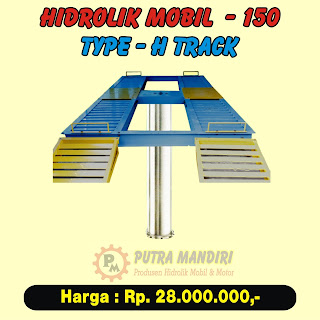 HIDROLIK MOBIL TYPE-H TRACK 150