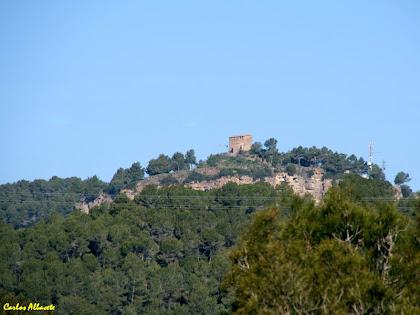El Castell de Gallifa des de la Quintana de La Vila. Autor: Carlos Albacete