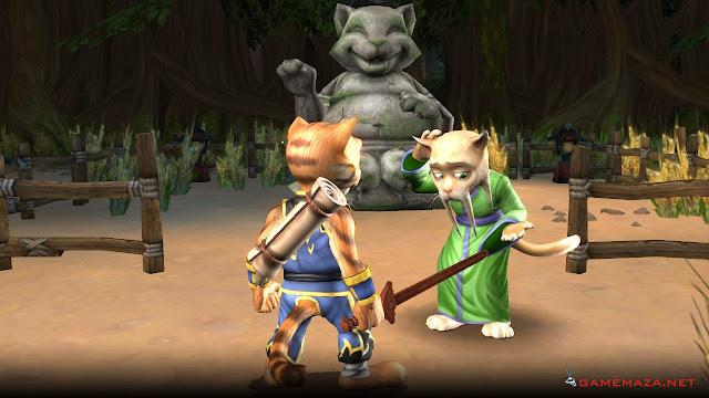 Legend Of Kay Anniversary Gameplay Screenshot 2