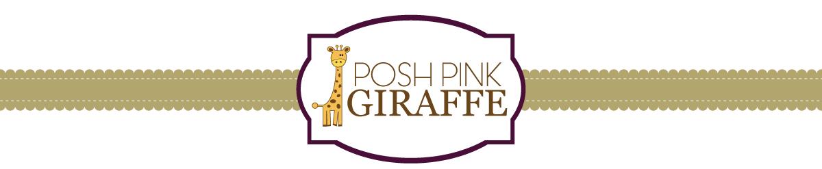 posh pink giraffe