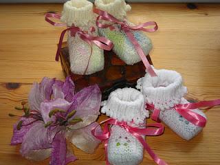 Free Knitting Patterns: Free Knitting Pattern: Baby Booties