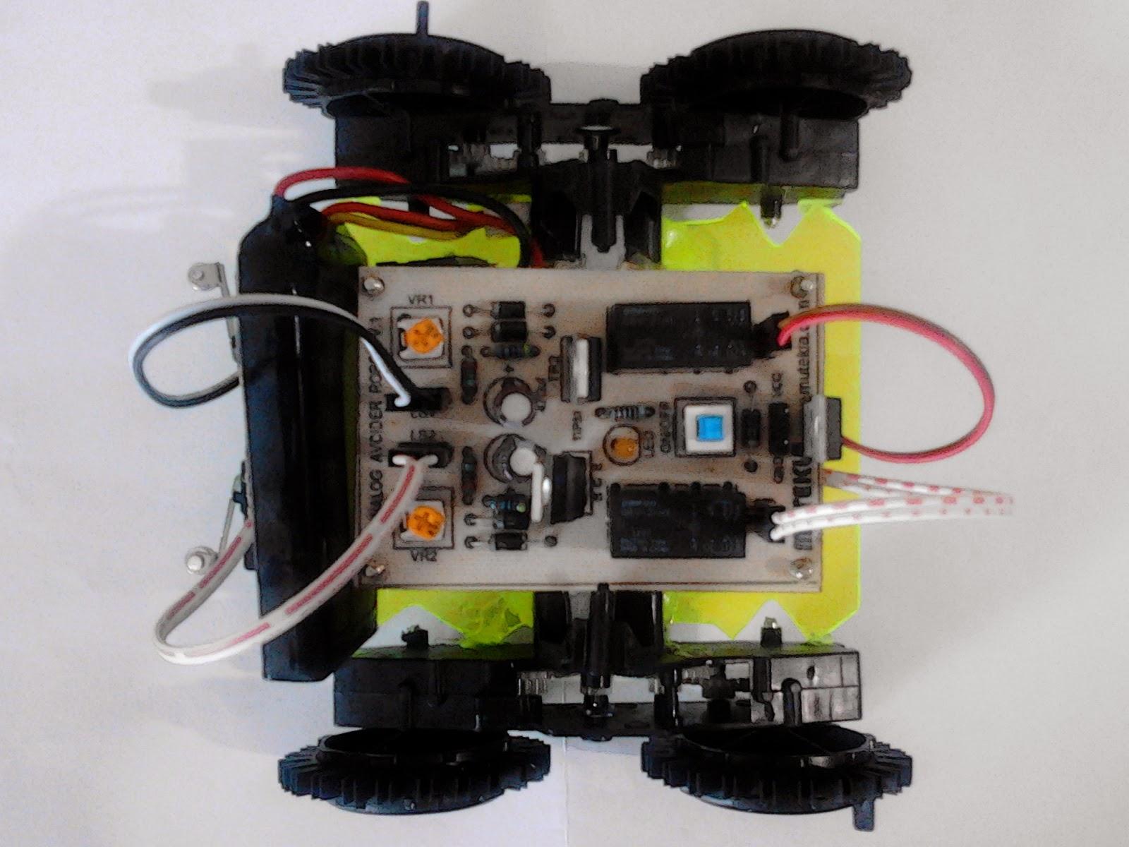 Cara membuat robot sederhana dari barang bekas tanpa