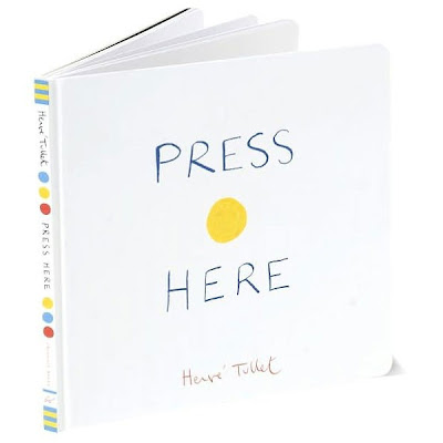 Press Here by Hervé Tullet cover page