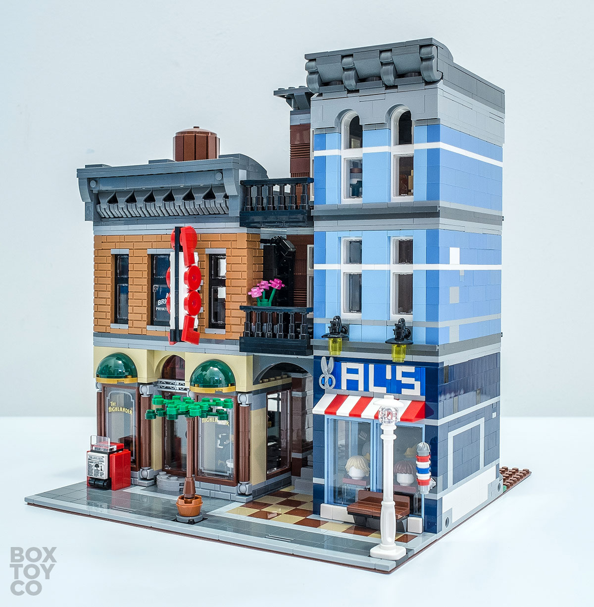 lego home office. brilliant office the colourful and rich exterior of lego detectiveu0027s office 10246 to lego home f