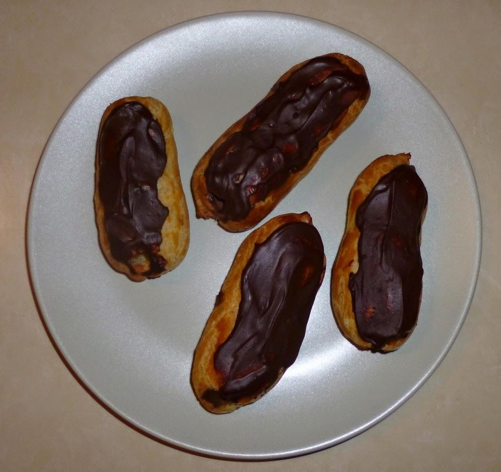 Je m 39 clate avec mes 10 doigts eclairs au chocolat - Glacage chocolat pour eclair ...