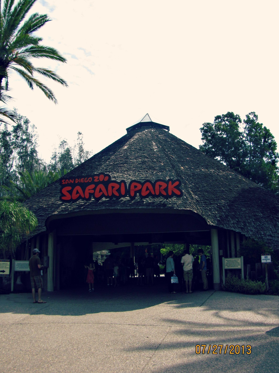 San Diego Safari Park // Entrance
