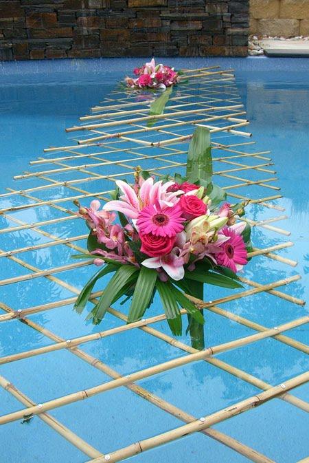 decoracao em piscina 1