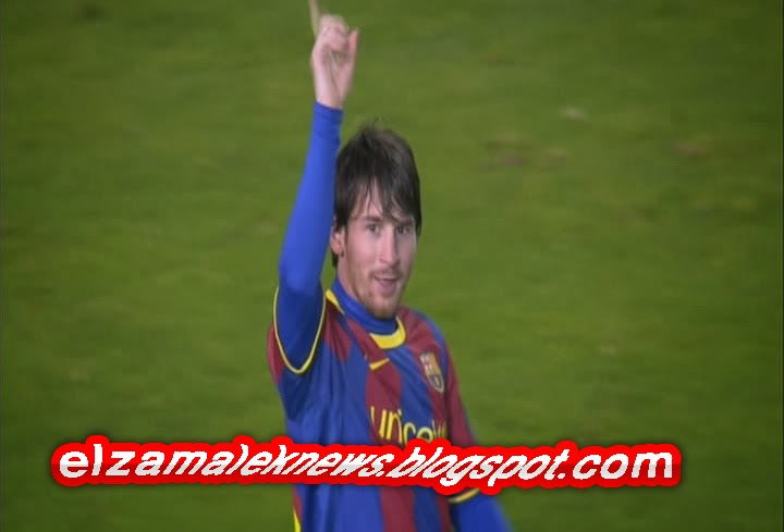 Leonel Messi play maker of Barcelona