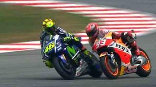 Valentino Rossi, Marc Marquez, Sepang Incident