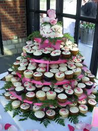 Cupcake Wedding Cake Ideas