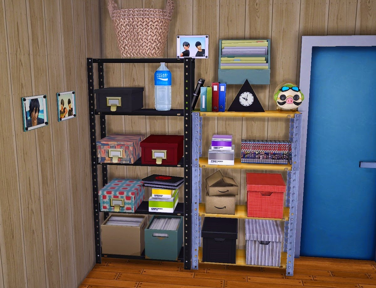 Very Impressive portraiture of My Sims 4 Blog: Shelves and Clutter by Kimu412 with #184579 color and 1200x922 pixels