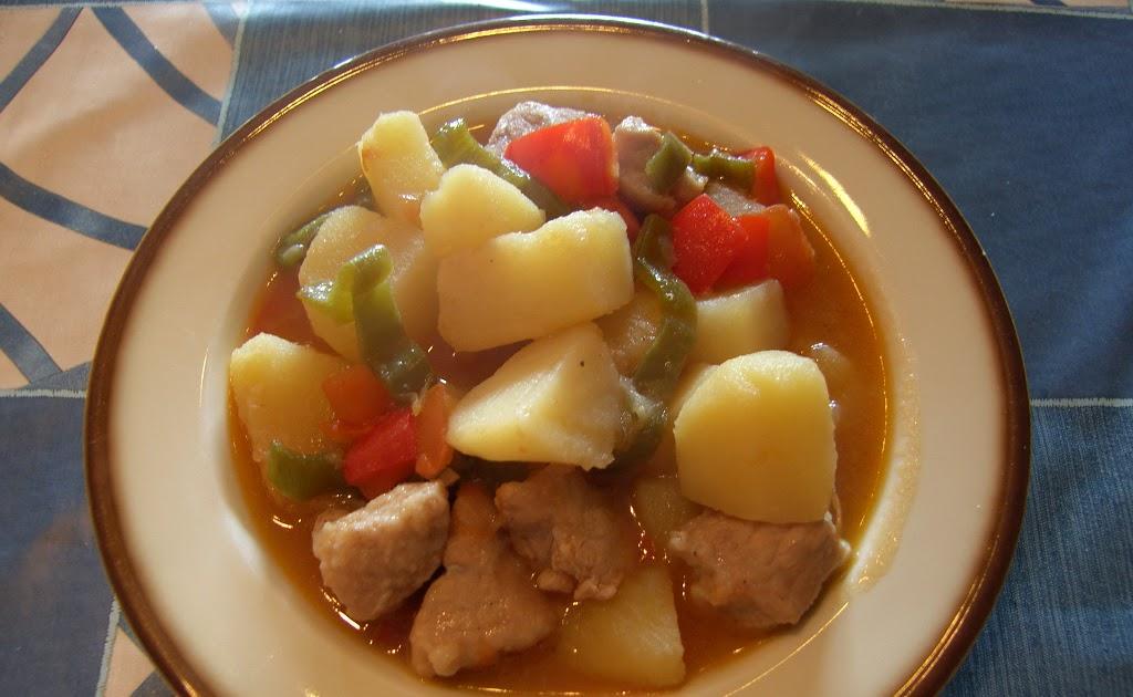 Can joan i sara guiso de patatas y carne de cerdo - Guiso de carne de cerdo ...