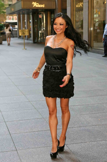 Tila Tequila at Sirius Radio in Los Angeles