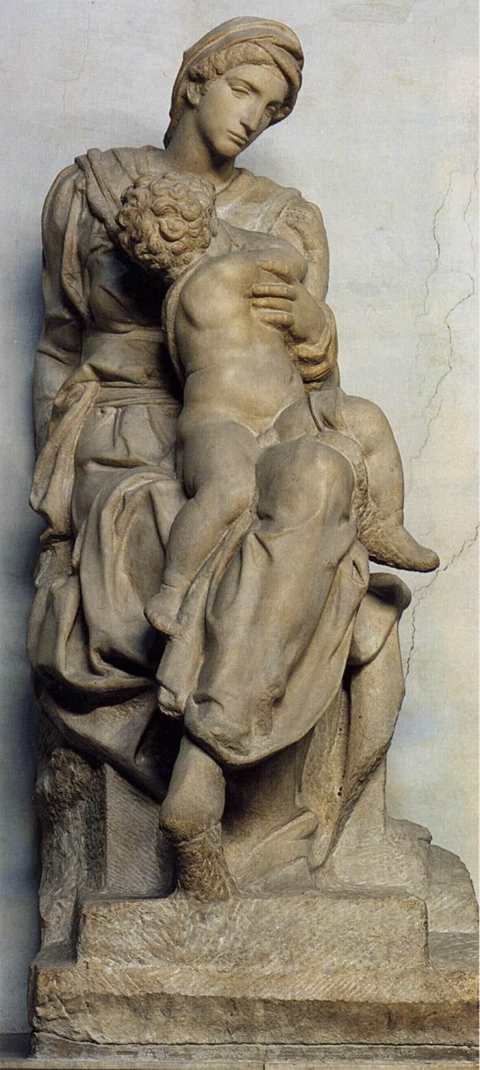 Michelangelo Buonarroti 1475-1564 | Madonna Medici, 1521-1531