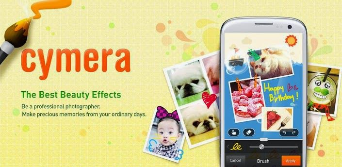 Aplikasi Edit Foto Android Terbaik Populer - Cymera
